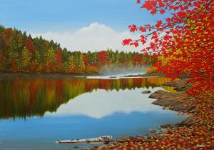 New Painting Autumn Dream By Kenneth Kirsch