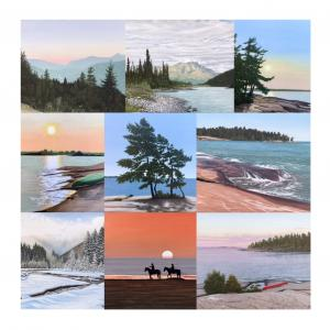 Kirsch Premieres Twelve New Landscape Paintings At The McMichael